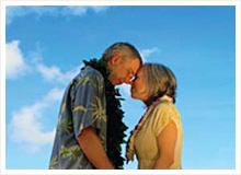ハワイで変わらぬ愛を誓い合う「バウ・リニューアル」