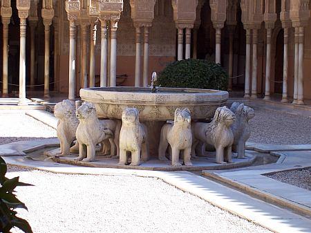 アルハンブラ宮殿にライオンたちが帰ってくる!