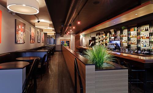 アンカレジのレストラン「ジンジャー」