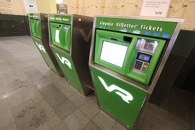 フィンランド国鉄の券売機が英語にも対応