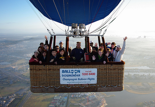 ゴールドコースト発、24人乗りの熱気球が登場!