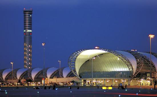 スワンナプーム国際空港の混雑について
