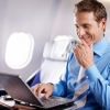 ルフトハンザが長距離路線便で通信サービス「FlyNet®」を提供
