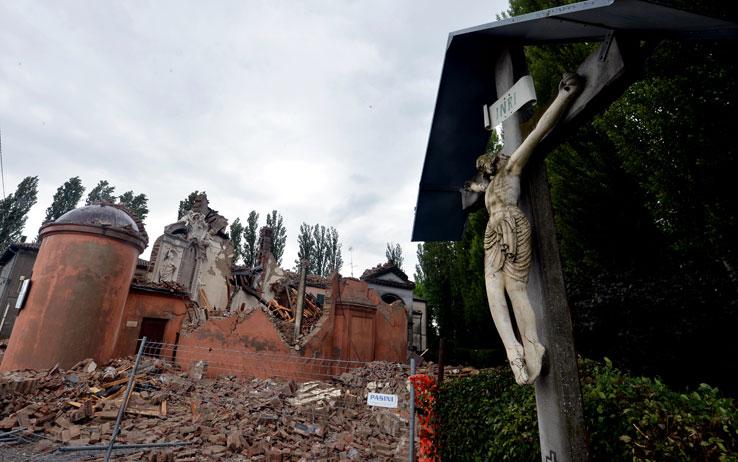 エミリア・ロマーニャ州で発生した地震の状況について