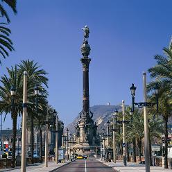 バルセロナ ウォーターフロント地区の散策ツアー