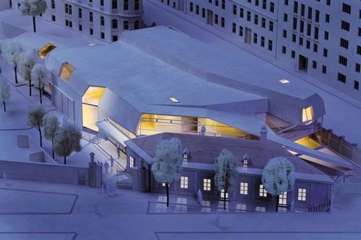 ウィーン少年合唱団のための新たなコンサートホール