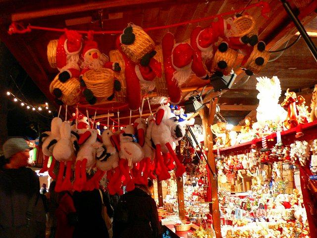アルザス地方のクリスマスマーケット
