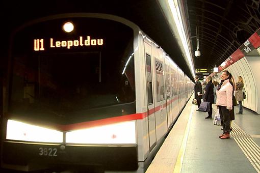 地下鉄や市電、バスでウィーン探訪