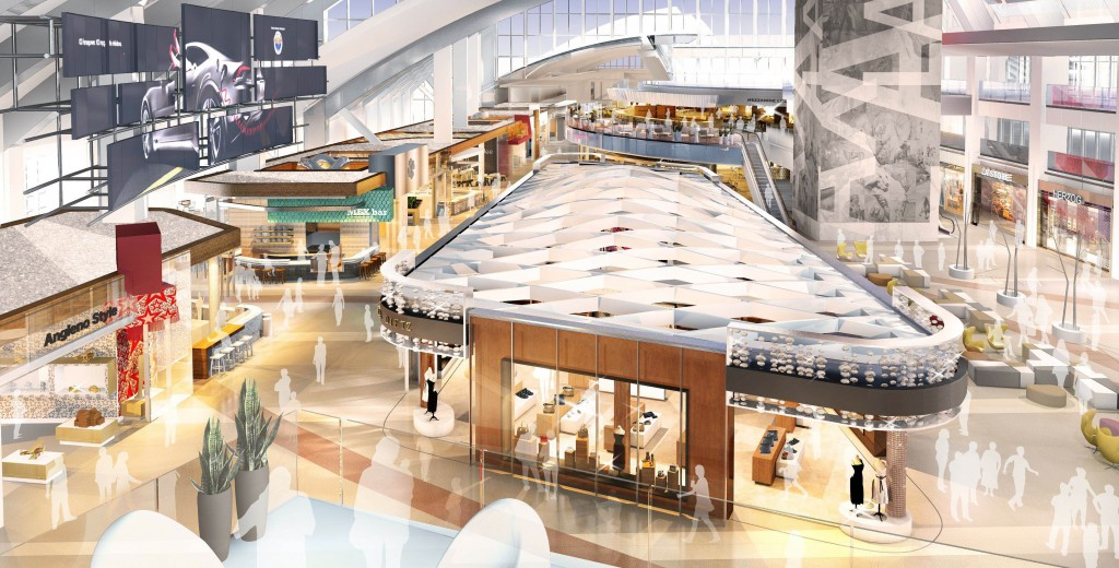 トム・ブラッドレー新国際線ターミナルの新店舗 発表!