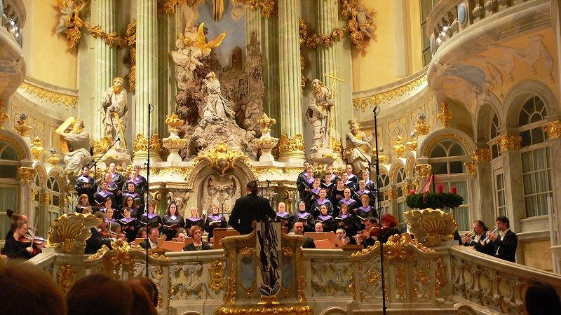 聖母教会でバッハの「クリスマス・オラトリオ」を聴く!
