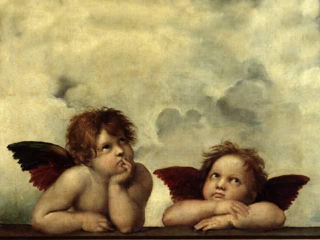 ドレスデンを有名にした二人の天使に会いに行く