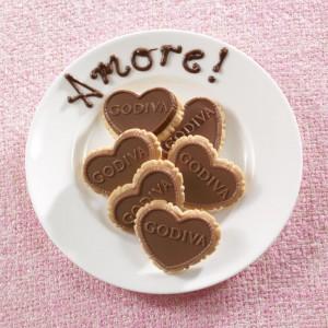 Strawberry Milk Chocolate Biscuits