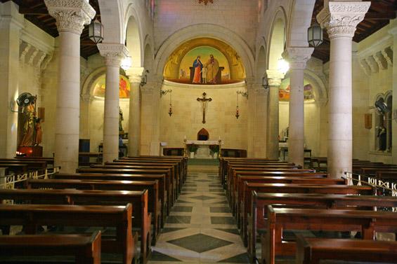ナザレの「聖ヨセフ教会」が再オープン