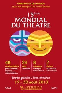 モナコで第15回世界演劇祭