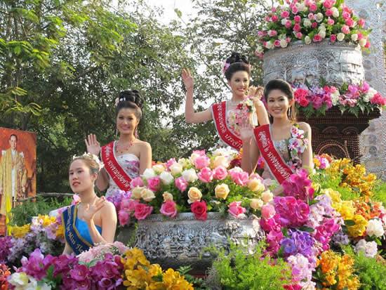 チェンマイ花祭り2014