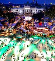 ウィーンで楽しむ氷の世界