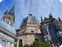 ドイツ最初の世界遺産、アーヘン大聖堂
