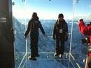 スリル満点、標高3千メートル級シャモニーのガラス張り展望台が完成