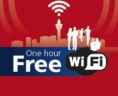 スキポール空港に無料Wi-Fiエリアが新設