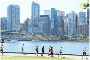 今年のバンクーバーマラソンは、5月4日に開催