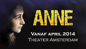 アンネフランクの劇がアムステルダムで公開