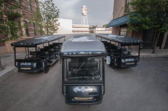 Batman Tour Carts