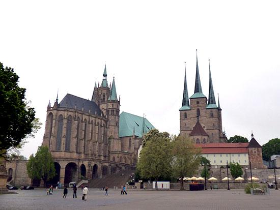 マリア大聖堂とセヴェリ教会