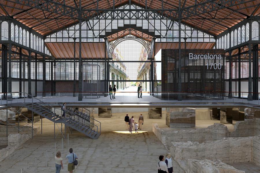 繁栄期のバルセロナの遺跡を巡る「エル・ボルン文化センター」