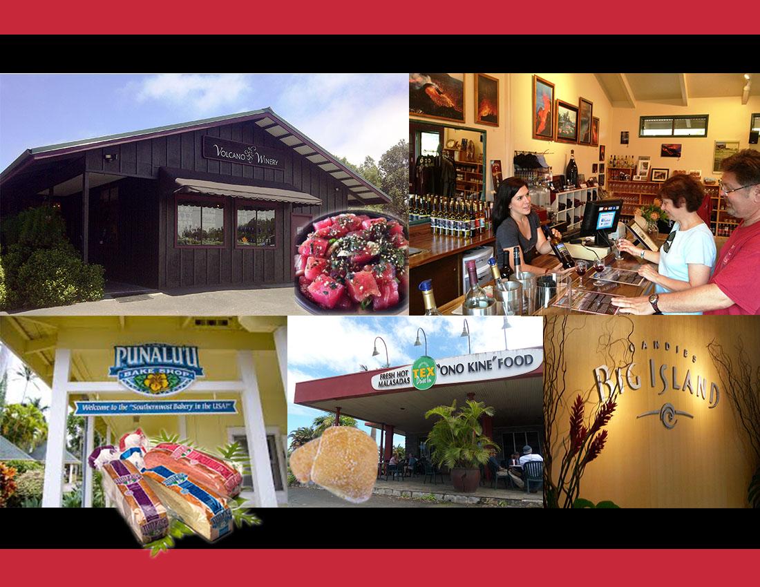 ハワイ島お土産ショッピング&満腹!ローカルグルメツアー