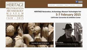 トレードフェア 「遺産2015 ~ 修復、考古学、そして博物館の技術」