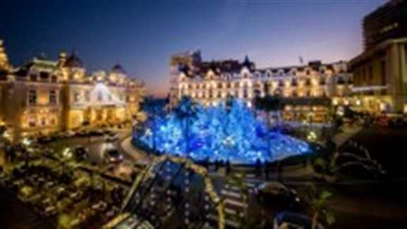 モンテカルロのクリスマス・イルミネーション
