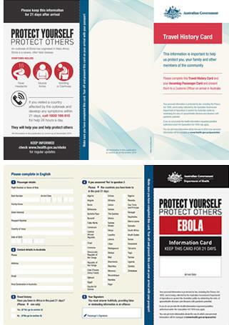 オーストラリア入国、「渡航歴カード」の提出を義務付け