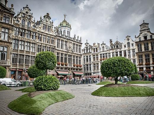 2015年夏、ブリュッセルで「フラワータイム」開催