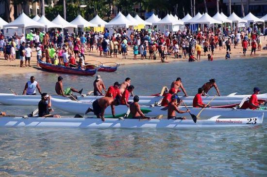 ヒルトン・ハワイアン・ビレッジで「デューク・カハナモク・ビーチ・チャレンジ」が開催