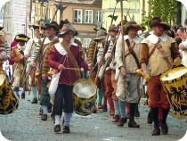 ルフトハンザで行くローテンブルク歴史祭り