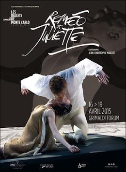 モンテカルロ・バレエ団の『ロミオとジュリエット』公演