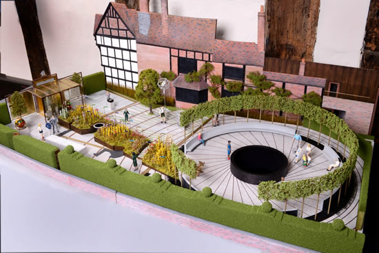 Architects_model_of_Shakespeares_New_Place