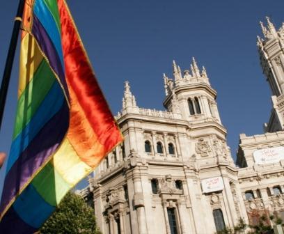 マドリッドで「LGBTプライド」開催