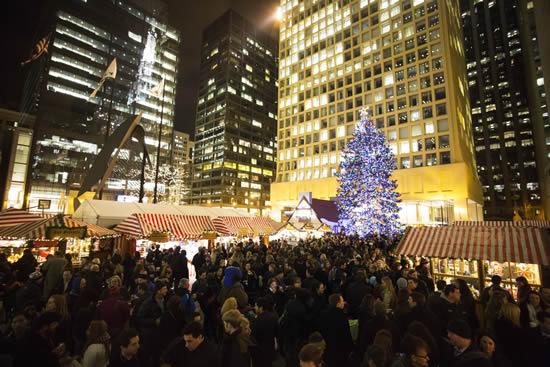 冬のシカゴの風物詩「クリストキント・マーケット」