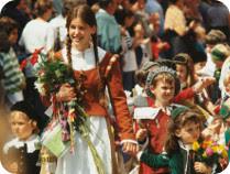 ドイツの歴史子供祭り「キンダーツェッヒェ」