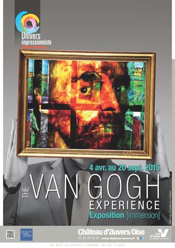 オーヴェル・シュル・オワーズ城で「ヴァン・ゴッホ・エクスペリエンス展」開催中