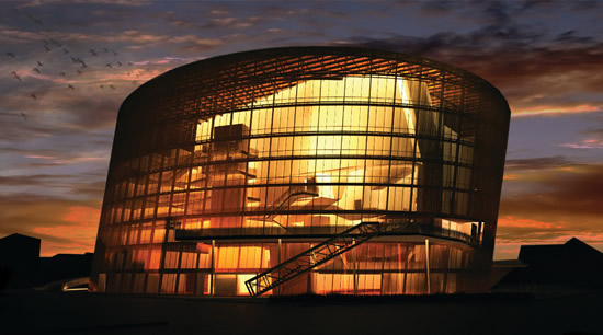 今秋、リエパーヤに新コンサートホールがオープン
