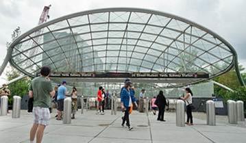 ニューヨークのメトロ7系統に新駅「34St-HudsonYards」が開業