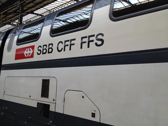 12月13日にスイス国鉄がダイヤ改正