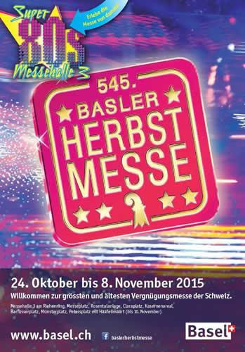 スイス最古の収穫祭「バーズラー・ヘルプストメッセ」