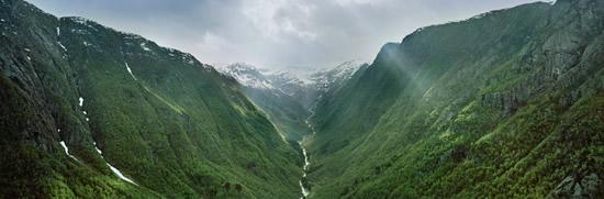 王妃の名を冠したノルウェー唯一のハイキングトレイル