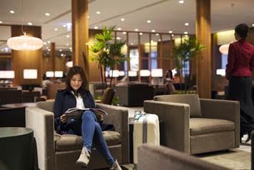 キャセイパシフィック航空、台北の桃園国際空港に新ラウンジを開設