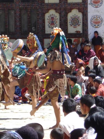 ブータンの「ダミツエ祭り」