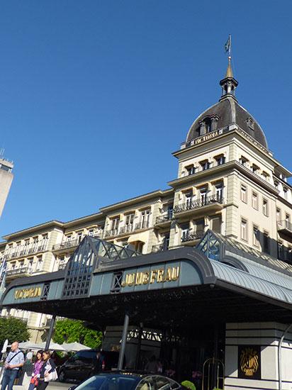 ヴィクトリア・ユングフラウ・グランドホテル&スパの外観