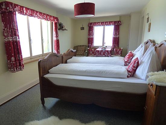 山岳ホテルの客室